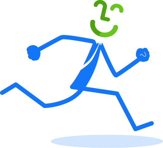 FiWize auto loans stickman